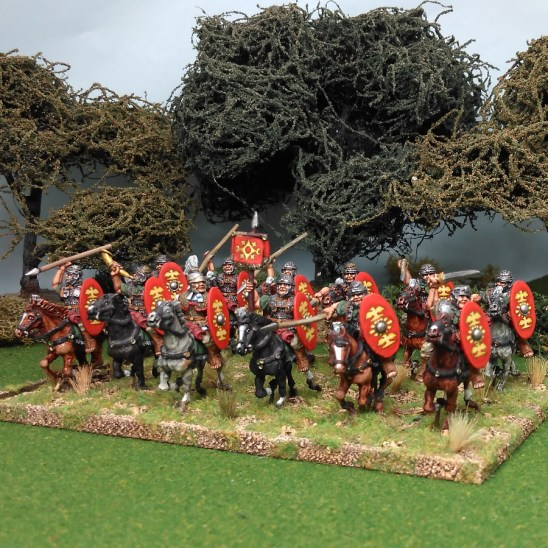 28mm early imperial roman auxilary cavalry
