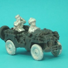 28mm british air landed radio command jeep