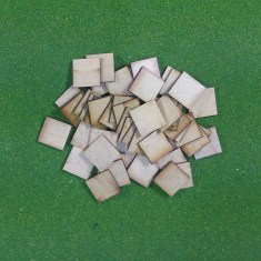20mm x 20mm MDF Bases