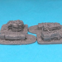 28mm ww2 US Paratroop Equipment Crates.