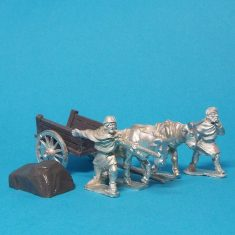 28mm Dark Age planked cart