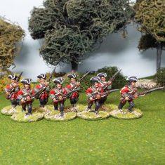 28mm seven years war british miniatures