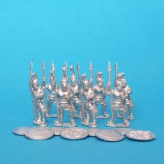 Greek Hoplites standing