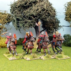 28mm Romano British Commanipulares Command