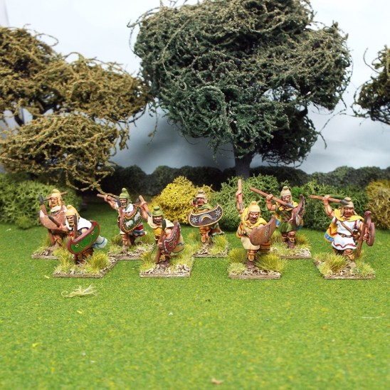 thracian warriors warband