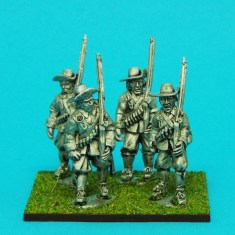 28mm english civil war musketeers wearing brimmed hat