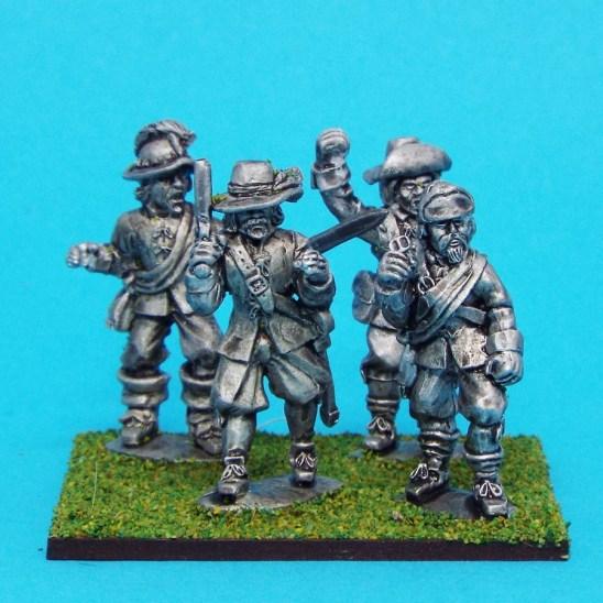 28mm ensigns english civil war miniatures