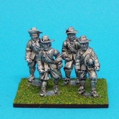 28mm english civil war unarmoured pike men wearing Brimmed Hat