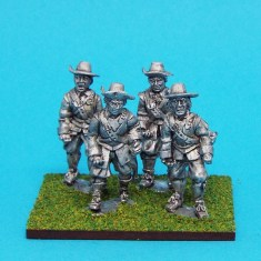 28mm english civil war armoured pikemen wearing brimmed hats