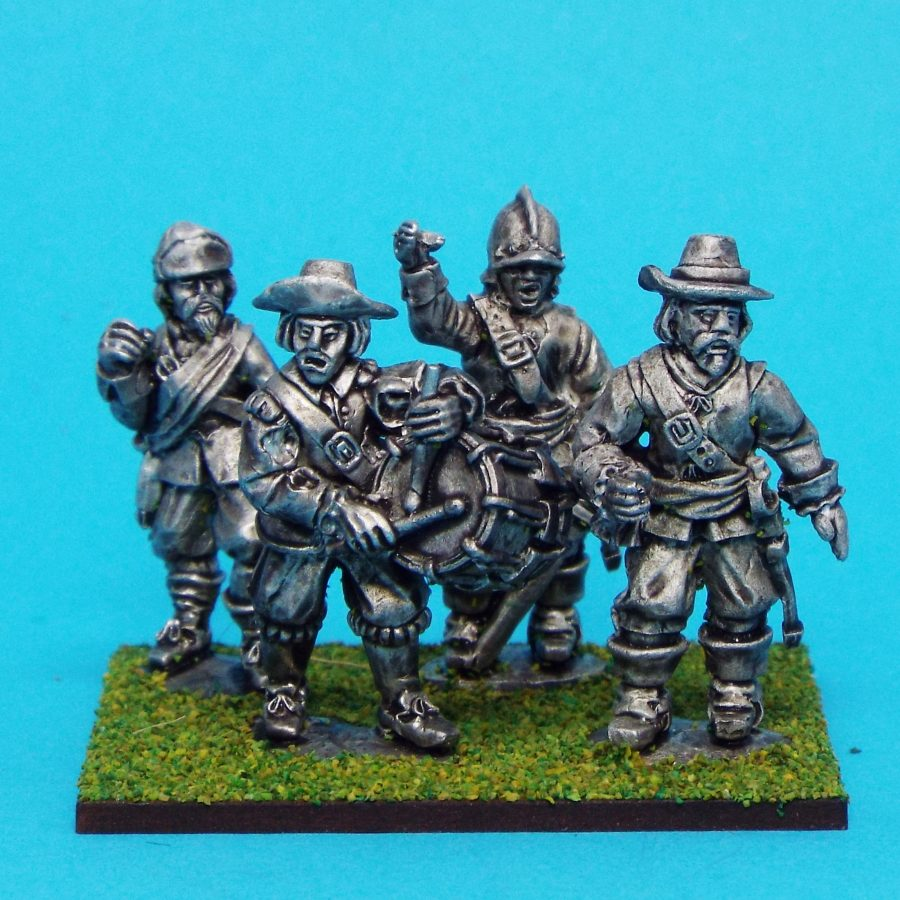 English Civil War Musketeer Casualties 28mm