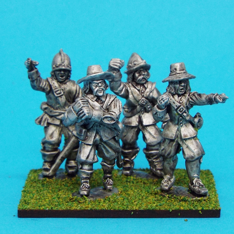28mm english civil war ensigns