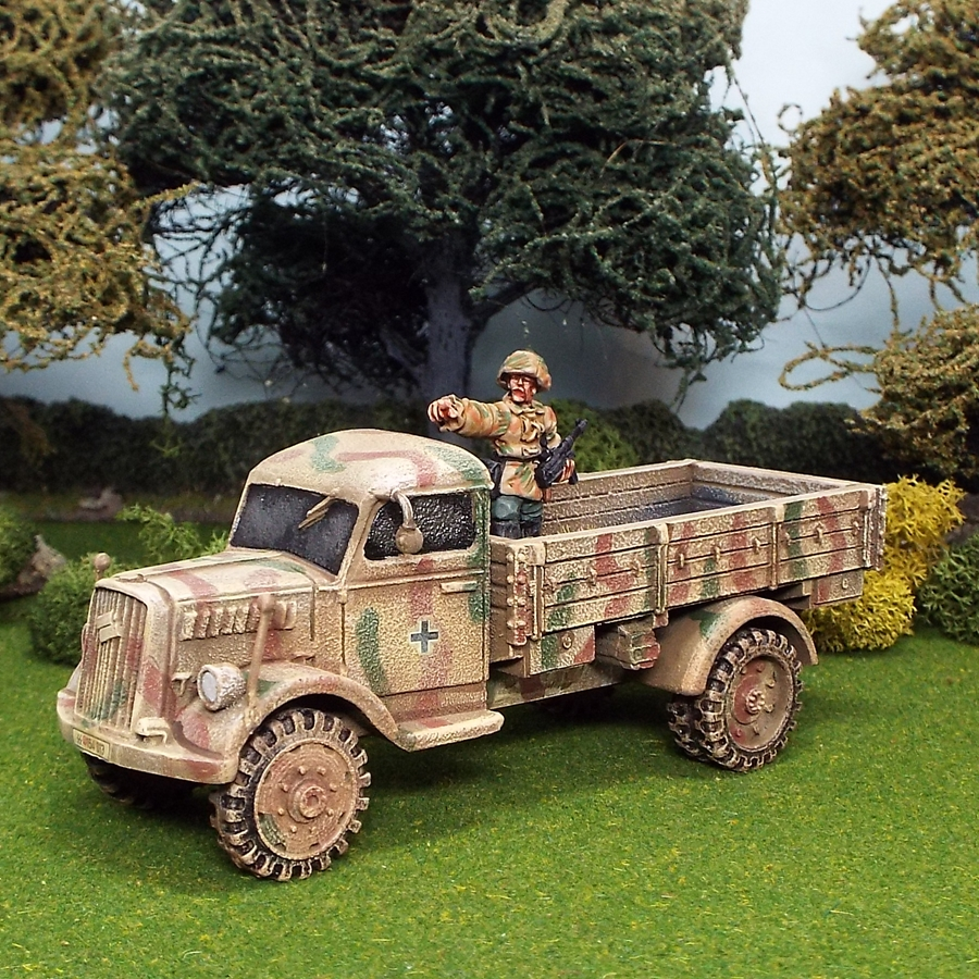 1/48 scale ww2 german opel blitz truck