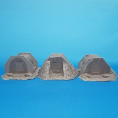 28mm ww2 Anderson Shelters set