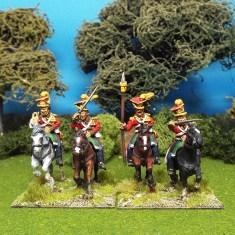 28mm Jalisco Lancers Command