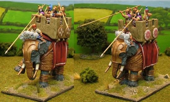 28mm armoured macedonian successor indian elephants