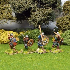 28mm Early Saxon Hearth guard Gedricht