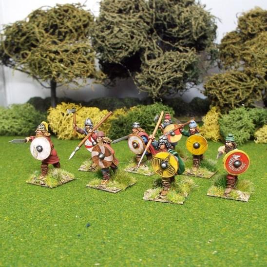 28mm early saxon duguth warriors