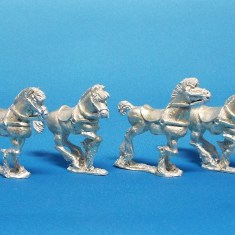 Scythian Sarmation Light Cavalry Horses
