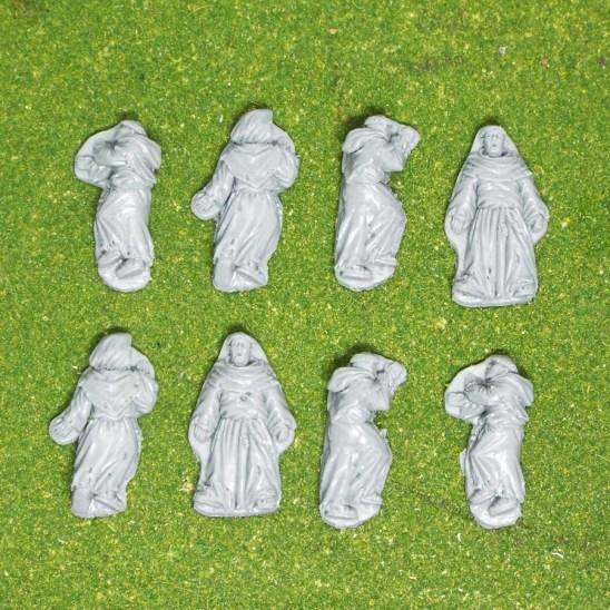 28mm Massacred Monk casualties