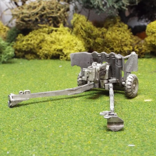 British 1/48 6ld Anti Tank Gun