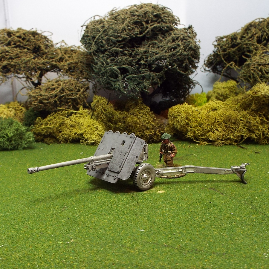 British 1/48 17ld Anti Tank Gun