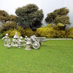 1/48 Zis2 Anti Tank Gun 6 crew