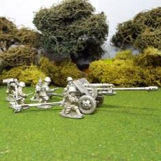 1/48 28mm Zis3 Field Gun 6 crew