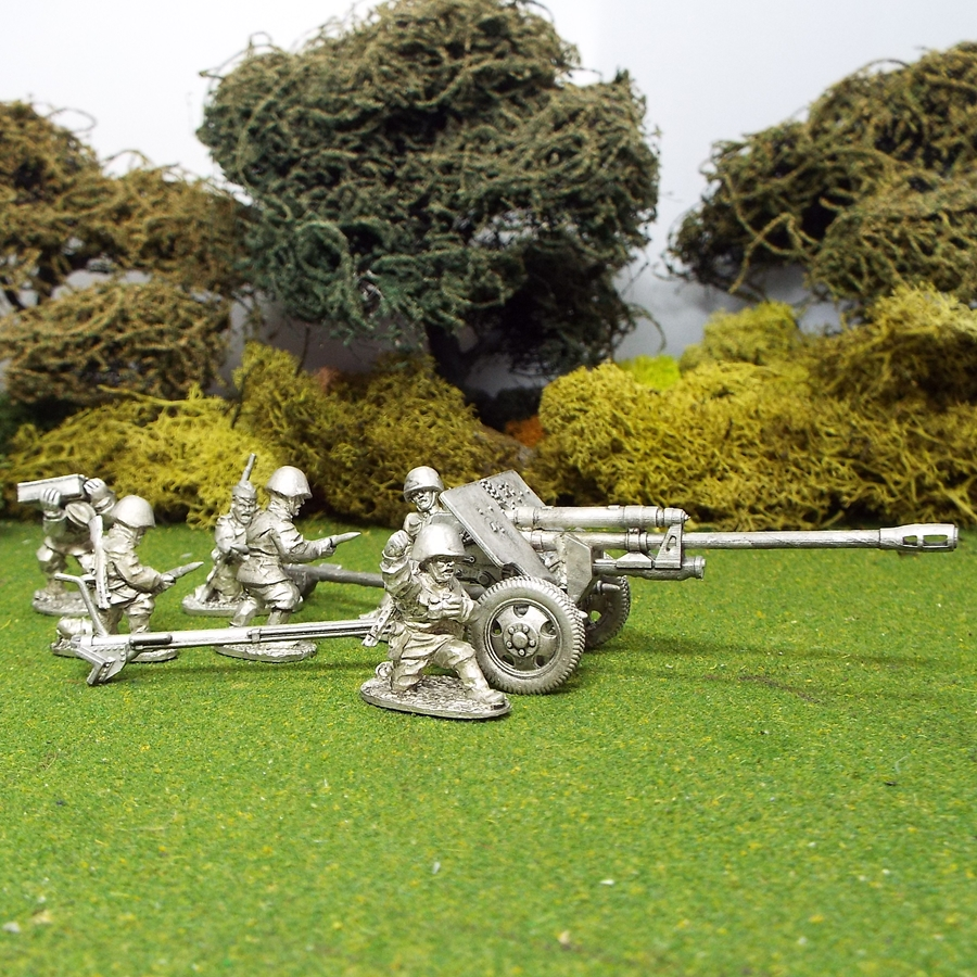 1/48 28mm Zis3 Field Gun 6 crew