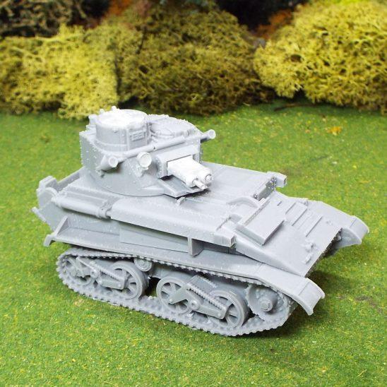 1/48 WW2 British Vickers Light Tank MKVIB