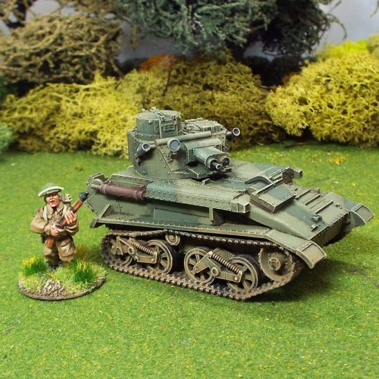 1/48WW2 British Vickers Light Tank MKVIB
