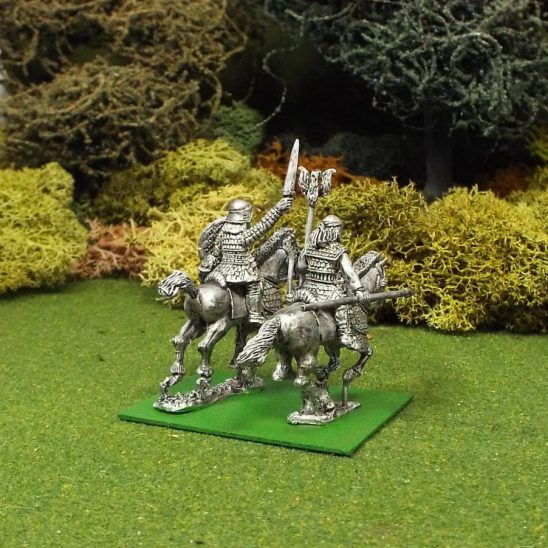 Scythian Mounted General and Standard Bearer,