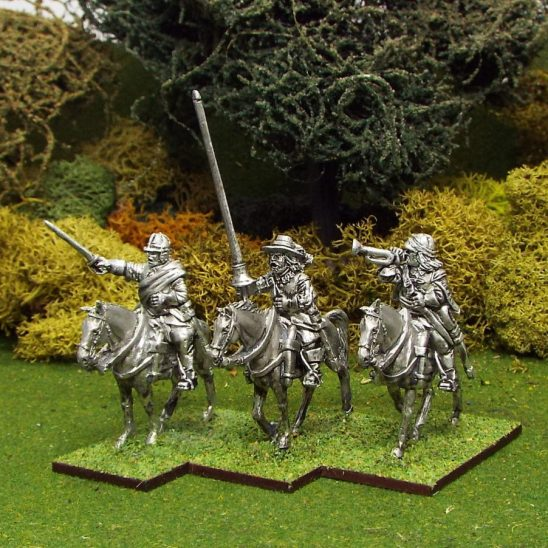 28mm English Civil War Cavalry Command