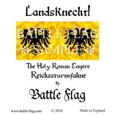 28mm Reichssturmfahne of the Holy Roman Empire Landsknecht Renaissance Wargame Banners and Flags