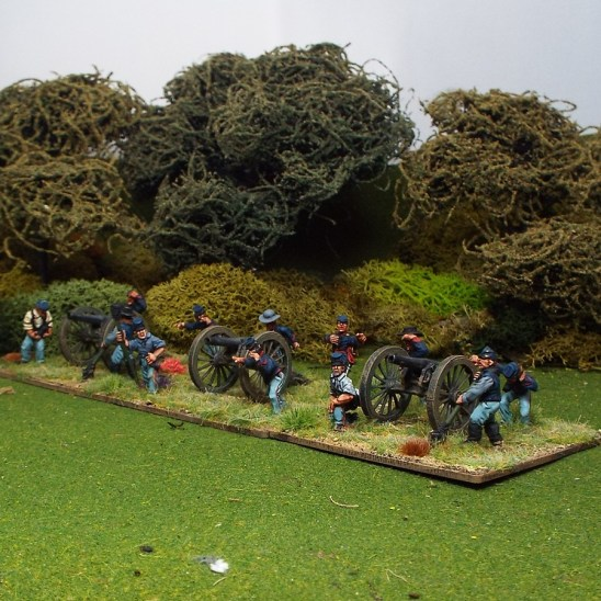 28mm American Civil War ACw artillery