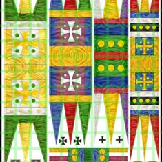 Norman Banners. Assorted banners suitable for Normans.