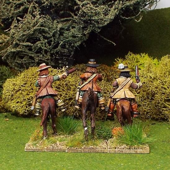 28mm English Civil War Cavalry
