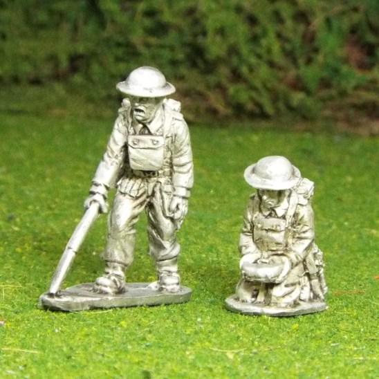 BEF Mine Clearance Team