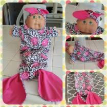 Mermaid Newborn Outfit
