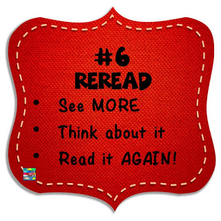 When reading, always reread the text for comprehension.