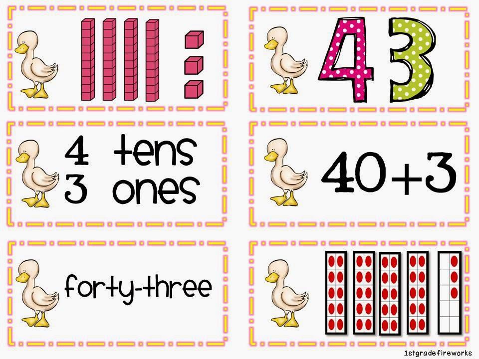 You Quack Me Up ELA & Math for First grade Place Value