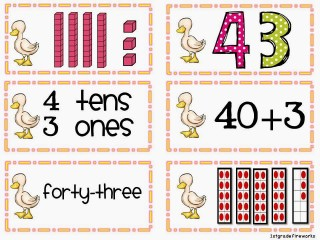 You Quack Me Up ELA & Math for First grade Place Value