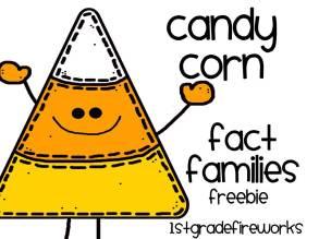 Candy Corn Fact Families FREEBIE