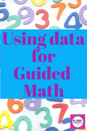 Using student data to form guided math groups allows for flexibility in teaching skills and strategies.