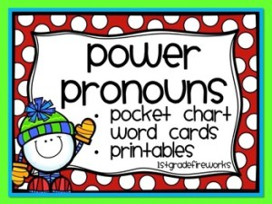 2019 is the year of BALANCED LITERACY! Pronoun Word Work FREEBIE!