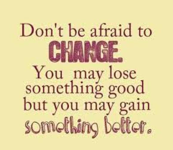 Change..inevitable