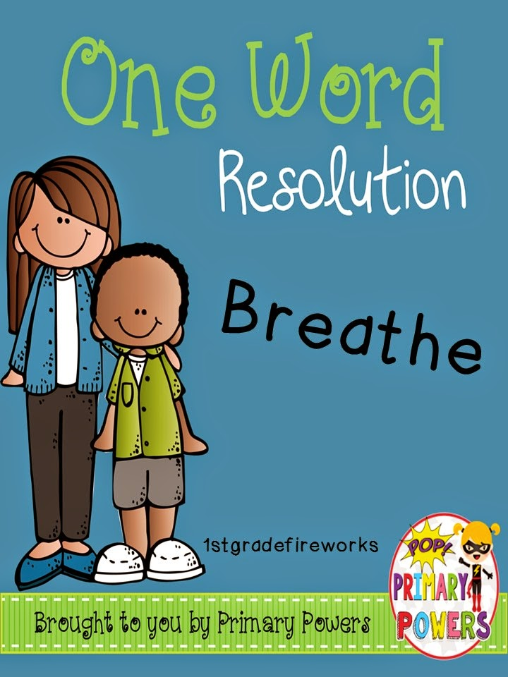 My One Word Resolution is BREATHE!