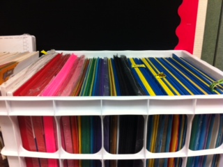 Filing construction Paper in a crate is on my list.