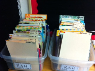 Sorting  Read at Home Books...on my list.