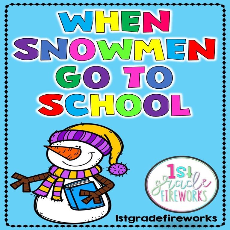 When Snowmen go to School COVER