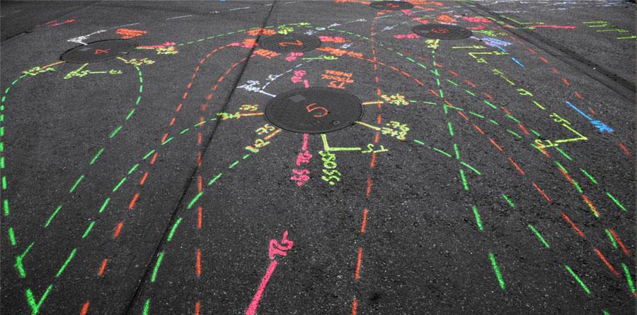 Underground Utility Marking Symbols Paint